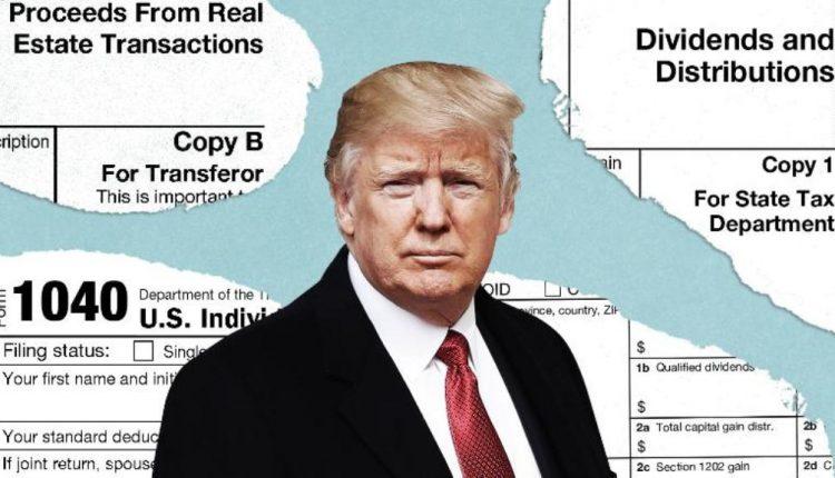 trump tax return